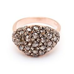 Petal Ring - Arik Kastan Rose-cut Diamond, 14kt Rose Gold
