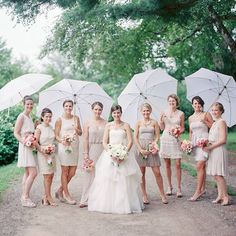 What to Do When There's Rain in the Forecast for Your Outdoor Reception (and You Don't Have a Backup Plan)