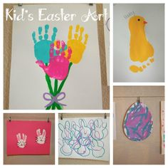Kid's Easter Art