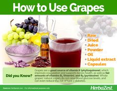 Grape is one of the most identifiable plants in the world. Read on to learn why it has been a staple of human health and happiness for centuries. Grape Nutrition, Grape Plant, Grape Seed Extract, Vitamin K, Red Grapes, Grape Juice, Natural Sugar, Herbal Medicine, Herbal Remedies