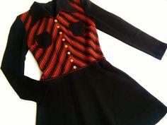 Vintage Kinderkleidung - Kleid 60er 152/158 xS S VinTage Waldorf 70er retro - ein Designerstück von LIEBKIND-bremen bei DaWanda