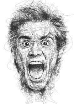Vince Low - Jim Carrey Lee Jeffries, Pencil Art, Sophia Loren, Seo, Bond