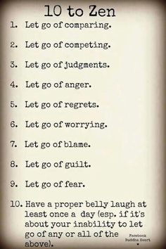 I wish I could do this, I know life would be better! So number 10 it is!