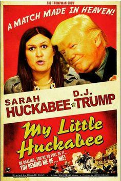 Sarah Huckabee Sander & D.J. Trump