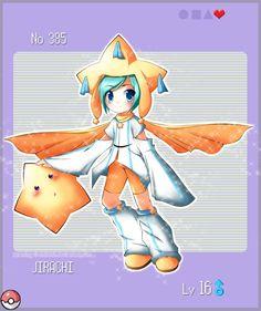 Pokemon Gijinka: Jirachi by shiloh0.deviantart.com on @deviantART