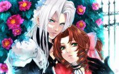 Aerith ♡ Sephiroth (Final Fantasy VII) #ff7