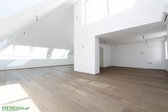 Erstbezug - loftartiges Penthouse in Top Lage - 4 Zimmer - Terrasse - EUR 1 Loft, Bed, Furniture, Home Decor, Penthouse Apartment, Apartments, Real Estates, Decoration Home, Stream Bed