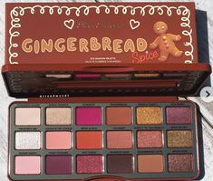 Also Faced Gingerbread Spice Holiday Eyeshadow Palette . - Also faced Gingerbread Spice Holiday Eyeshadow Palette # holidays - Makeup Dupes, Makeup Brands, Skin Makeup, Makeup Cosmetics, Best Makeup Products, Makeup Brushes, Beauty Products, Make Up Products, Fall Eye Makeup