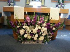 Easter altar arrangement