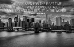 F. Scott Fitzgerald New York Quote Poster at AllPosters.com