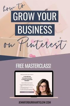 Are you struggling with getting traffic to your website? Do you have great content, services and products, but you need more eyes on your site? And, what about your leads? Do you ever feel like you've exhausted your list?  If you have said yes to any of these questions, then you should be looking at Pinterest. Pinterest is now the #1 traffic referral for my business.   Let me teach you how to grow your online business with Pinterest. JOIN THE FREE MASTERCLASS #onlinebusiness #smallbusiness Affiliate Marketing, Inbound Marketing, Business Marketing, Online Marketing, Content Marketing, Growing Your Business, Starting A Business, Business Planning, Business Tips