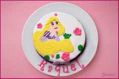 Tarta Rapunzel- Rapunzel cake - No quieres caldo? Pues toma 2 tazas
