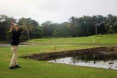 Playa Dorada Golf - chipping hole 5