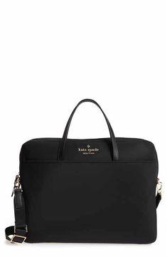 kate spade new york uni slim laptop commuter bag