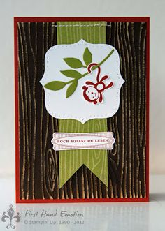 Stampin' UP! by First Hand Emotion: Fox and Friends