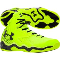 Under Armour Men's ClutchFit Lightning Basketball Shoe - Yellow/Black | DICK'S Sporting Goods