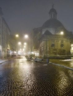 Brukivka in Lviv, W Ukraine, from Iryna with love