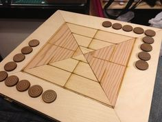 Nine Men's Morris Board Game Plans