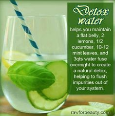 Detox Water - NEED to try!!