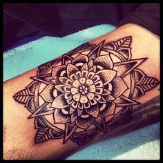 #mandala #tattoo #catrink