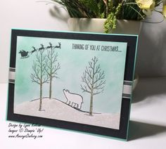 Stampin Up White Christmas