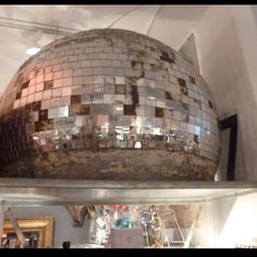 Giant disco ball