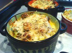 Recette du petit gratin de carotte râpée, courgette et viande hachée au #kiri ! Un gratin DÉLICIEUX ! #kiri #gratin #gourmand #recette #enfant #facile #rapide
