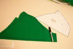 FREE Peter Pan hat sewing pattern
