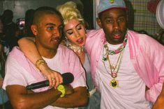 Tyler The Creator and Kali Uchis Make a Surprise Appearance at Illegal Civilization's Second Ever Art Show