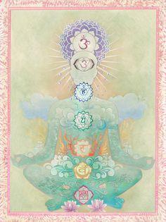 Ayurvedic Healing 3 Simple Home Remedies To Boost Your Immune Strength Arte Chakra, Chakra Art, Art And Illustration, Les Chakras, Chakra Symbols, Yoga Mantras, Spirited Art, Chakra Meditation, Yoga Art