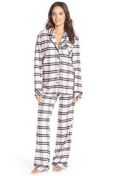 Nordstrom Flannel Pajamas available at #Nordstrom