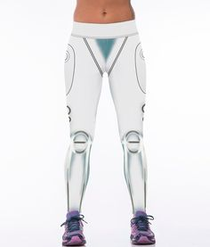 55c33be15893f ... Buy White robot design 3D printed legging women workout leggins ladies  fitness leggins high waist quality polyester women sweatpants from Reliable  pant ...