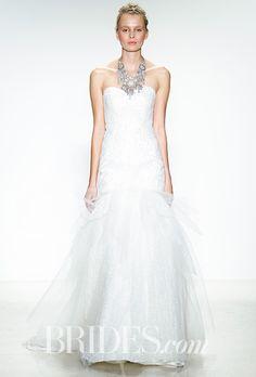 Brides.com: . Wedding dress by Kelly Faetanini