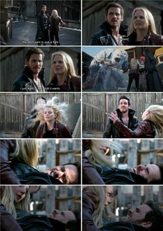 "Emma And Hook - 4 * 1 ""The Tale of two sisters"" #CaptainSwan"