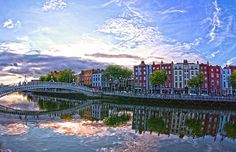 River Liffey  Painting