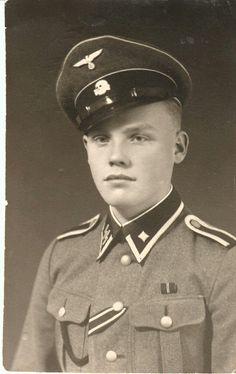 Scharführer Ahti Pio 17 years old finnish soldier in SS Viking division.