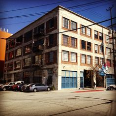 """The apartment building from the hit tv show """"New Girl"""". It's located at 837 Traction Ave, Los Angeles."""