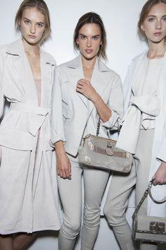 Backstage Pass: Milan Fashion Week Spring 2015 - Backstage at Bottega Veneta Spring 2015