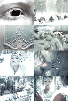 by Hans Christian Andersen Ice Aesthetic, Queen Aesthetic, Aesthetic Collage, Character Aesthetic, Snow Queen, Ice Queen, Aesthetic Backgrounds, Aesthetic Wallpapers, Snow Elf