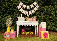 Der 30. Geburtstag - Die Party - Deko | Pinkepank (1) | Party ... Picknick Im Gartenzelt Ideen Fur Gartenparty Mit Familie Und Freunden