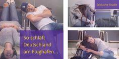 _Funny Sleeping Pics am Airport _