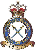 "During the German occupation, Norwegians already abroad, or those escaping from occupied Norway, ensured a constant supply of flight and ground personnel. On the 21st of July 1941 No.331 (Norwegian) Squadron was formed at Catterick in Yorkshire. Operationally it was under the control of the RAF. The RAF unit code was FN, and legend has it that this stands for ""First Norwegian"". That, however, has never been officially acknowledged."