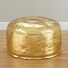 I am obsessed with this pouf!!! Not sure if it would be in my daughter's room or my living room :)