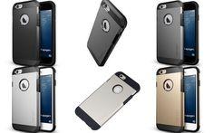 iPhone 6 (4.7) Case - Spigen Tough Armor Style, Dual Protection - iPhone 6 (4.7)