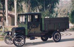 1925 Ford Model TT grain truck. Only ninety were made.
