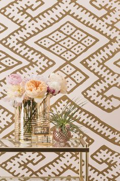 KILIM-Blush Wallpaper