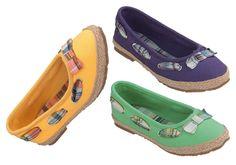 """Mit diesen tollen Ballerinas von ConWay machen Sie Ihren Kleinen bestimmt eine Freude. Im Sommer werden sie bestimmt die hübschesten am Spielplatz sein. Ein Ausblick auf tolle Kinder Ballerinas wie zum Beispiel unsere """"Nizza"""" für Frühjahr/Sommer 2013. ConWay, Kinder Ballerinas – Nizza – gelb, grün und lila; Mary Janes, Spring, Sneakers, Shoes, Fashion, Green And Purple, Nice, Hiking Shoes, Playground"""
