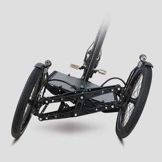 ProCargo by Sortimo Tricycle Bike, Trike Bicycle, Recumbent Bicycle, Reverse Trike, Velo Design, Bicycle Design, Eletric Bike, Three Wheel Bicycle, Velo Cargo