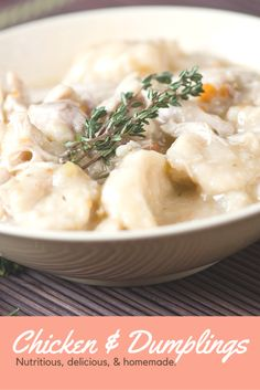 Southern style chicken and dumplings recipe pinterest chicken classic southern chicken and dumplings forumfinder Gallery
