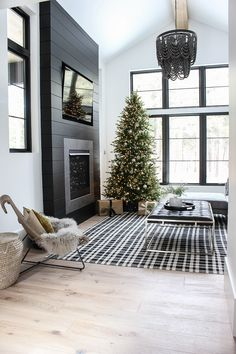 The House of Silver Feeding: The Forest Modern Grand Finale Christmas Home Tou . - The House of Silver Feeding: The Forest Modern Grand Finale Christmas Home Tour 2 … Check - Design Living Room, Home Living Room, Apartment Living, Decorating Small Living Room, Living Area, Cozy Apartment, Apartment Kitchen, Cozy Living, Desgin